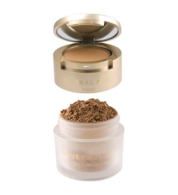 Mineral Mix Cover & Finish- 2w1: Mineralny sypki+prasowany puder do twarzy